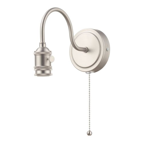 Accessory 1 Light Wall Light Antique Chrome Bracket Only, SPW0761